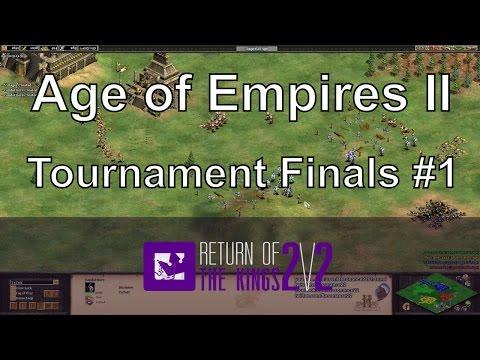 Aoe2 Fast Imperial Condotierro Rush Rotk Finals Game 1