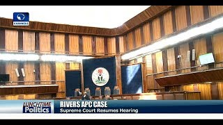 Supreme Court Strikes Out APC's Appeals On Exclusion From Rivers Elections |Lunchtime Politics|