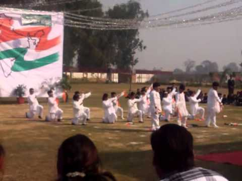 Chak de India and suno gaur se duniya walo at DPS Bharatpur