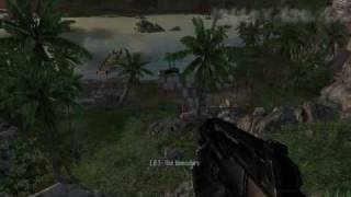 Crysis Gameplay on the Intel X3100 IGP (GM965) Part 2 of 3