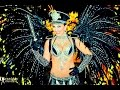 Police Woman Carnival Costume in Rio Parade