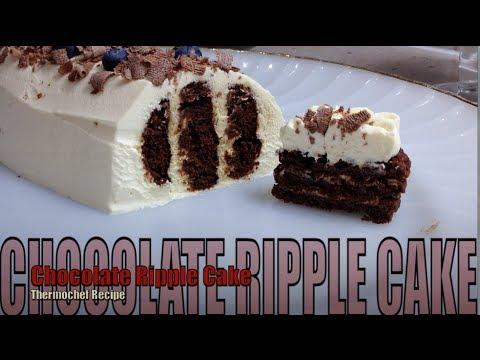 How To Make Chocolate Ripple Cake Youtube