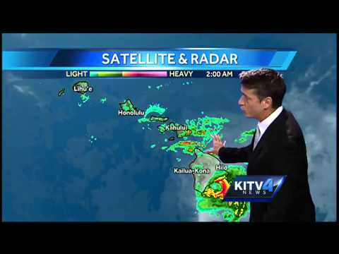 Tropical Storm Iselle slows down as it approaches Big...
