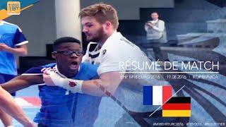 Résumé France - Allemagne   Demi-finale EFH M18 EURO 2016   Croatia