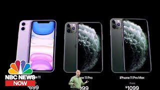 Everything You Need To Know About New iPhone 11 Pro | NBC News Now