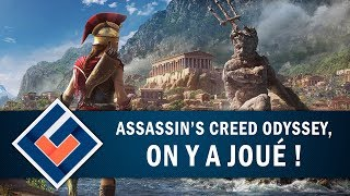 ASSASSIN'S CREED ODYSSEY : On y a joué !   GAMEPLAY FR