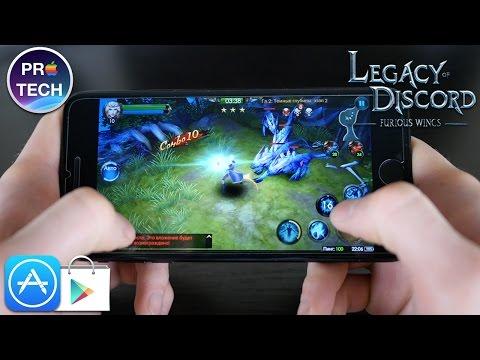 Обзор Legacy of Discord для iOS и Android — качественную MMORPG заказывали?