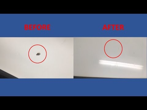 How to fix rock chips in your paint using Dupli-Color Scratch Fix All-in-1 applicator