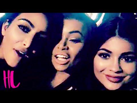 Kylie Jenner, Kim Kardashian & Blac Chyna Sing 'I Don't F With You' - VIDEO