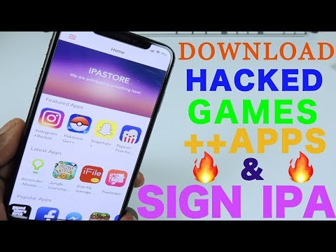 iPASTORE Download Hacked Games ++Apps & Sign iPA On Your Device iOS 11