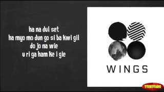 BTS - 2!3! Still Wishing Lyrics (easy lyrics)
