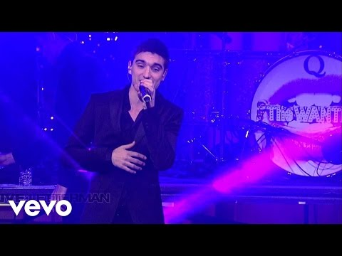 The Wanted - Gold Forever (Live @ Letterman, 2013)