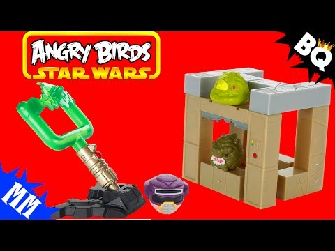 Angry Birds Star Wars Jabba's Palace Battle Game Review