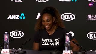Serena Williams Press Conference | 2019 Australian Open First Round