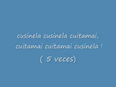 La Cusinela-El Venado Azul lyrics subtitulos