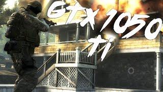 Counter Strike CSGO GTX 1050 Ti FPS - 4K & 1080p Gameplay