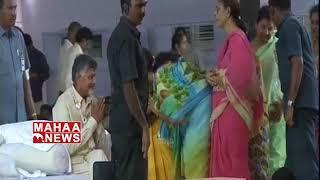 K. Satyanarayana Praises CM Chandrababu At #DharmaPorataDeeksha