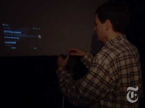 Thumb David Pogue: The Latest Pico Projectors