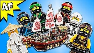 Lego Ninjago Movie: DESTINY's BOUNTY 70618 Animation & Speed Build