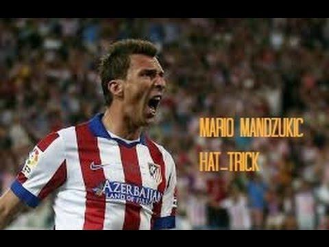 Mario Mandzukic hat-trick vs Olympiakos