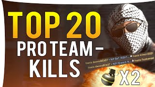 CS:GO - Top 20 BEST PRO TEAMKILLS OF ALL TIME!