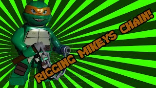Behind the scenes: LEGO TMNT: Mikeys Chain | LEGO Animation | TwinToo Bricks