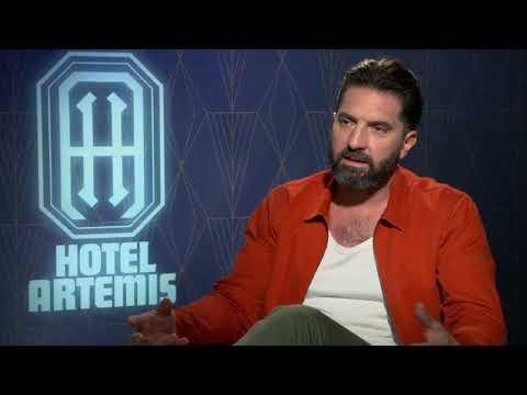 "Writer/Director Drew Pearce Talks ""Hotel Artemis"""