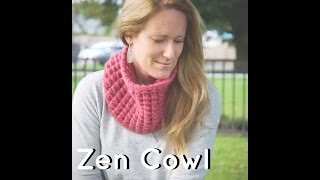 Zen Cowl Tutorial by Knit It Out