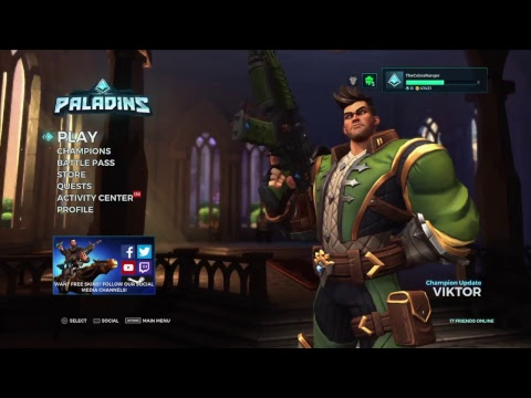 Paladins First game: Initial thoughs/playing with friends...