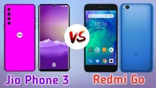 Jio Phone 3 Vs Redmi Go Phone ।। Price ₹1500 Vs ₹4000 ।। Camera 📸25MP Vs 📸13MP ।। Ram 2GBFull