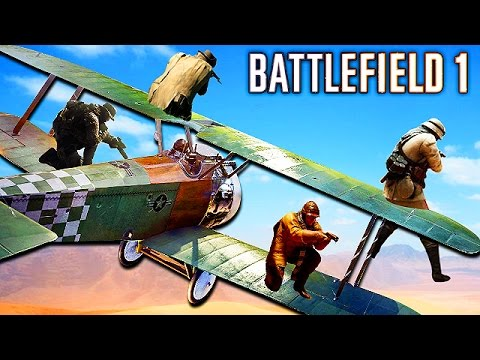 BATTLEFIELD 1: EPIC & FUNNY MOMENTS! (Fails, Glitches, Epic Moments)