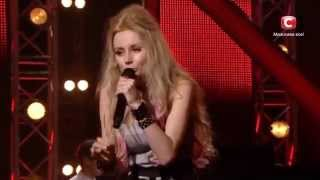 SEMARGL vocalist Adele Ri (Ирина Василенко) at X-factor Ukraine sings Wrecking Ball