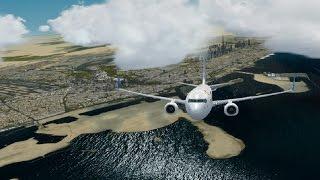 Testing EZDOK V2; PMDG 737-800 FlyDubai Dubai Deperture