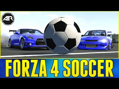 CAR SOCCER!!! - Forza 4 Online w/ AR12 ARMY