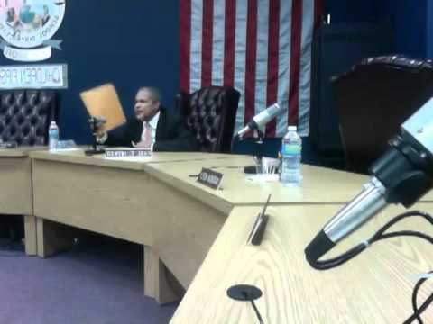East St. Louis District 189 Board Mtg 4-16-12 2012 Video by Erica M. Brooks