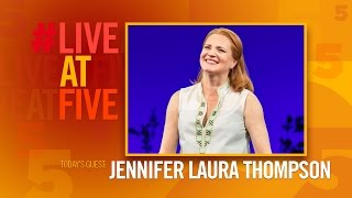 Broadway.com #LiveatFive with Jennifer Laura Thompson of DEAR EVAN HANSEN