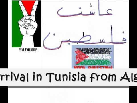 Viva Palestina..Tunisian police stop Gaza aid convoy