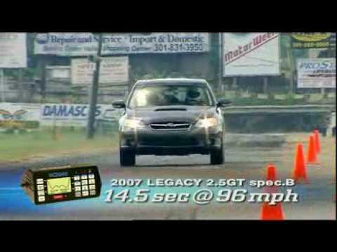 Motorweek Video of the 2007 Subaru Legacy Spec B