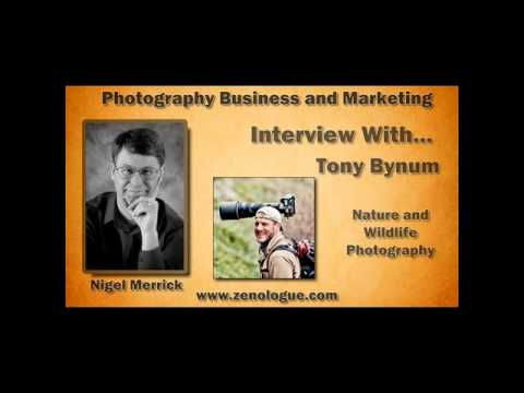 Photography Business Interview (Preview): Wildlife, Nature and Landscape Photographer Tony Bynum