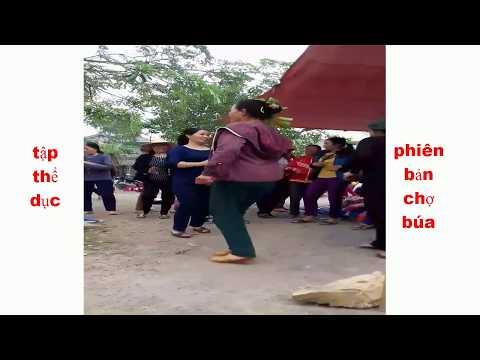 Clip hài hước - vui nhộn - thể dục phiên bản chợ búa | clip