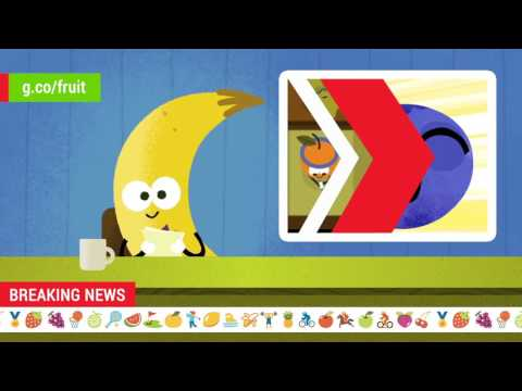 2016 Doodle Fruit Games: Blueberry Golf Newscast
