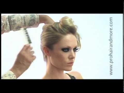 Como Hacer Elegante Peinado de Noche Paso a Paso