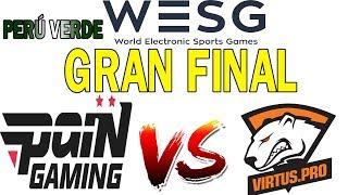 GRAN FINAL WESG 2018|  BO3  | PAIN GAMING(BRASIL) VS TEAM RUSSIA (VIRTUS PRO)