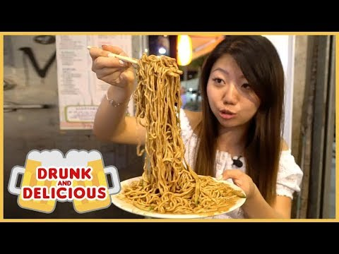 SEXY SESAME NOODLES! Drunk & Delicious Taiwanese Street Food After Dark