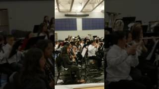 MH Middle school honor band 5-12-17