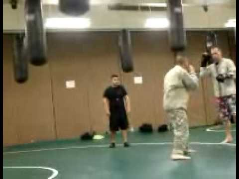 Clinch Drills (Modern Army Combatives)