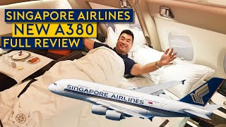 Onboard Delivery Flight of Singapore Airlines NEW A380!