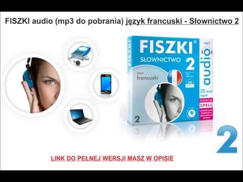 NAUKA FRANCUSKIEGO - Słownictwo 2 - FISZKI Audio, MP3, Szybka Nauka Słówek I Zwrotów