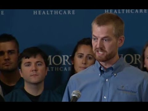 US doctor 'thrilled to be alive' after Ebola recovery