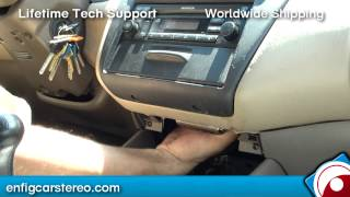 How-to Honda Accord 1998-2002 Aux Audio Input iPhone IPod Android Blitzsafe HON/AUX DMX V.1